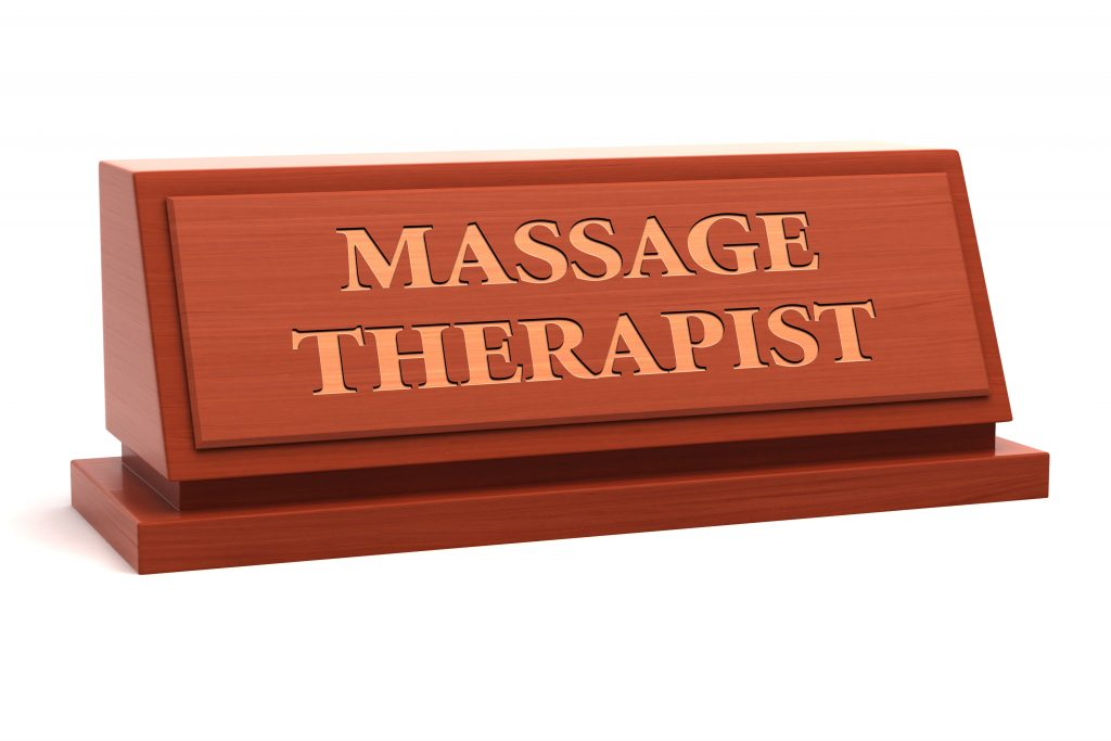 Massage therapist demand is increasing